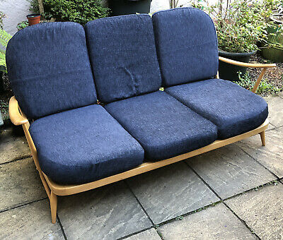 Outstanding Retro Ercol Sofa/Daybed Delivery Available Matching Items Listed
