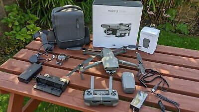 DJI Mavic 2 Zoom 4K Drone + Fly More Kit - EXCELLENT condition, Low Flight Time