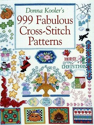 999 Fabulous Cross Stich Patterns...donna Kooler