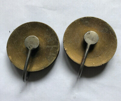 Early Pair Of 8 Day Long case Clock Pulleys