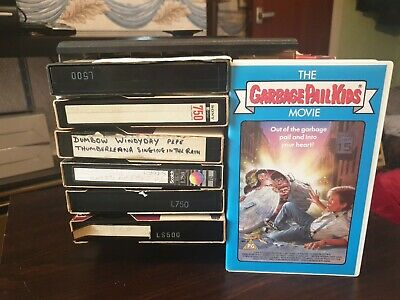 17x Betamax Video Tapes - Used - Various Content - Good condition