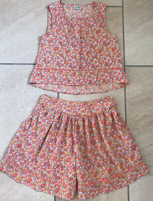 Girls 2 Piece Set From Next Shorts Top Floral Age 11 Years Summer