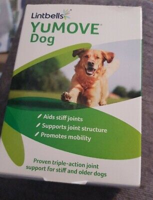 Lintbells YuMOVE Dog Joint Supplement for Stiff & Older Dogs 120 Tabs bbe 11/20