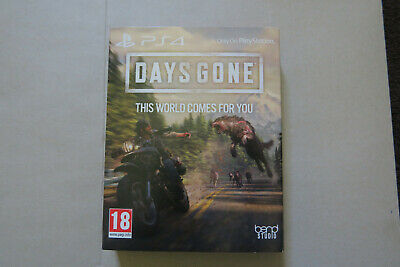 Days Gone - PS4 Game With Limited Edition STEELBOOK NEW & SEALED