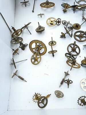 Clock Watch Cogs Gears Antique X 55