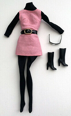 Integrity Toys Fashion Royalty Dynamite Girl Pink Linen Jumper With Accessories