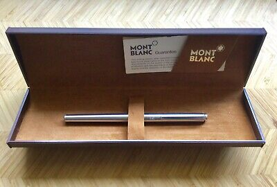 "Vintage Montblanc Ballpoint ""Quick Pen"" Stainless Steel,Working Refill,Boxed."
