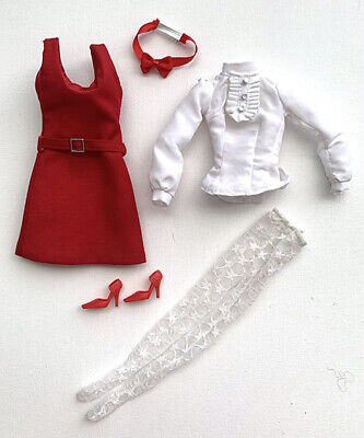 Integrity Toys Fashion Royalty Poppy Parker Red Holiday Ensemble RARE NR