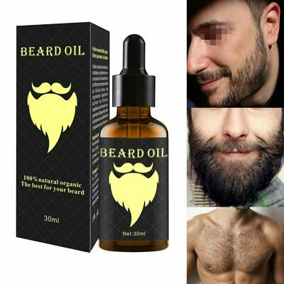 100% Natural 30ML Accelerate Facial Hair Grow Beard Essential Oil Hair and Beard