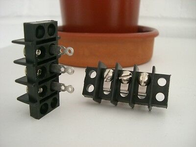 Terminal Block Screw Tagged 15 Amp 3 Way Barrier Cinch type R44-025-003 Last pc