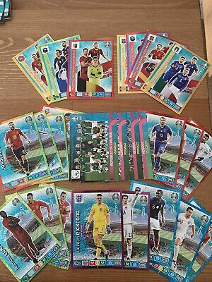 Panini UEFA Euro 2020 261 Different Adrenalyn XL Trading Cards No Duplicates.