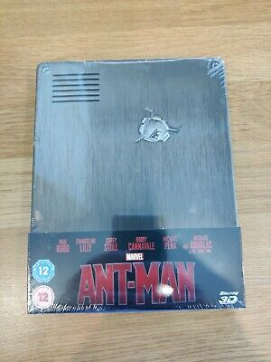 Marvel ANT-MAN Limited Edition Blu Ray Steelbook - Zavvi UK Exclusive - 2D & 3D
