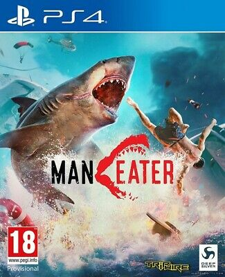 Maneater Sony Playstation PS4 Game