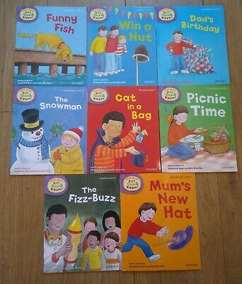 Oxford reading Tree Stage 2 Biff Chip & Kipper Stories 8 Books