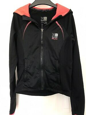 Little Girls Black And Orange Karrimor Run Jacket X-Liteaged 7-8 Years 122-128Cm
