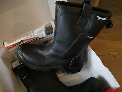 COFRA Thermic Safety Black SIZE 43  Nitrile Heat resistant BOOTS NEW AND BOXED