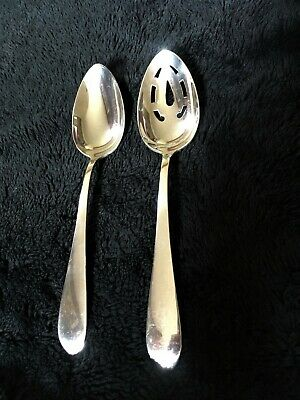 Pointed Antique by Reed Barton Dominick Haff Sterling Serving Spoon Pcd Open Tip