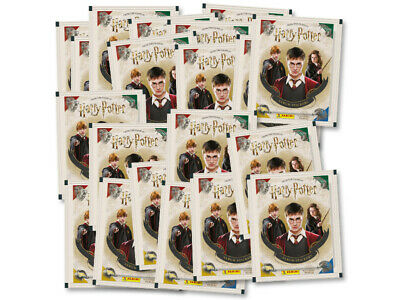Panini HARRY POTTER SAGA Stickers Collection Packs 20 Packets BRAND NEW FREEPOST