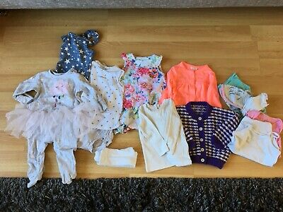 GIRLS CLOTHES BUNDLE AGE 3-6 MONTH, FROM NEXT etc