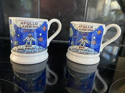 Emma Bridgewater Apollo Moon Landing 1/2pt Mug 2 For Sale 2nd Quality
