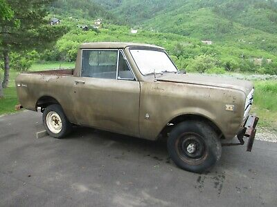 1972 International Harvester Scout Half-Cab Scout II 1972 International Scout II Half-Cab 4X4
