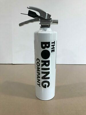 The Boring Company - Fire Extinguisher for Not-A-Flamethrower - Brand New!