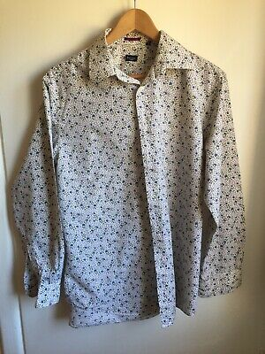 """PAUL SMITH Classic Shirt Mod Size 42 16"""" Collar Made In Italy"""