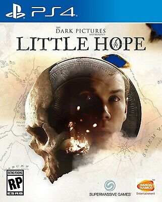 Playstation 4 Ps4 - The Dark Pictures: Man Of Medan Brand New Sealed