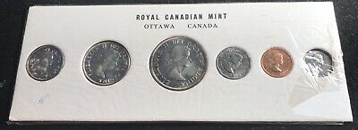 Canada 1960 Prooflike Silver Carded Set