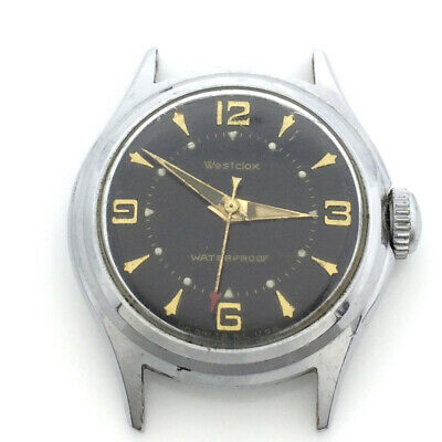 Vintage Westclox Men's Watch, Stylish Dial, Parts/Repair/As-Is
