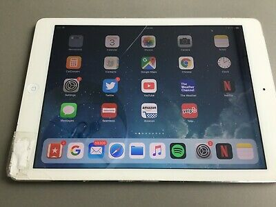Apple iPad Air 1st Gen. 32GB, Wi-Fi + Cellular (Verizon), 9.7in - Silver AS-IS