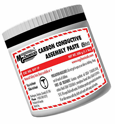 MG Chemicals Carbon Conductive Assembly Paste, 466mL Tub