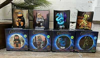 Harry Potter Magical Creatures Mystery Cube The Noble Collection Set of 4