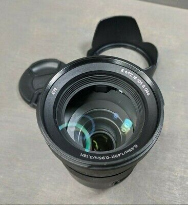 Sony G-Series E PZ 18–105 mm F4 G OSS Lens for Sony (SELP18105G) - few scratches