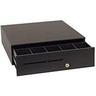 APG T320-BL16195 Series 100 Cash Drawer - Black