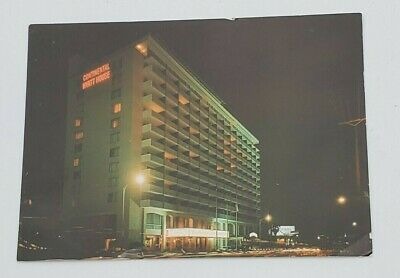 Vintage Continental Hyatt House Postcard Hollywood CA Hotel