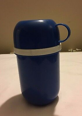 Portable Baby food flask with cup lid food warmer non breakable PVC
