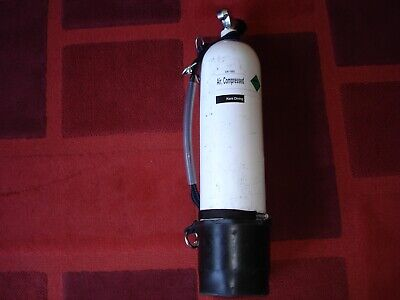 Scuba  Faber 7 litre cylinder in test til march 2022 with Bowstone stage rig