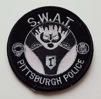 Pittsburgh Pennsylvania Police SWAT patch, new condition