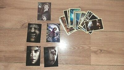 Harry Potter Panini Saga Sticker Collection and Trading Cards