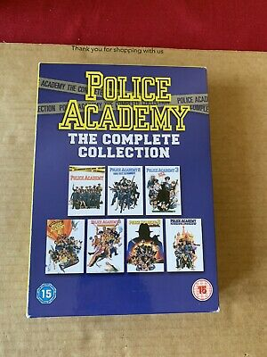 Police Academy Box Set DVD Complete 1-7 Collection Police Academy - Like New