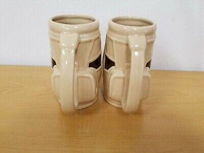 Matching Set of Vintage Golf Bag Coffee Cups & Pen/Pencil Holder - 16 Oz.