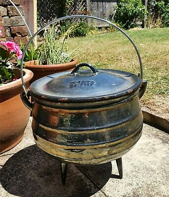 Falkirk Size 3 Cast Iron Cooking Pot/Cauldron