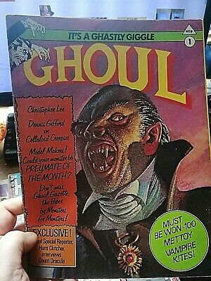 Ghoul First Edition Issue One 1976, Rare Magazine, Hammer, Horror, Monsters