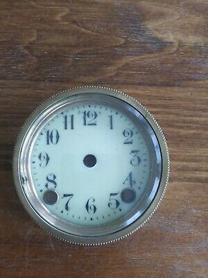 Antique Hand Painted Porcelain Clock Face