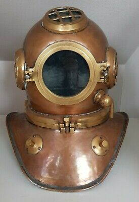 Taucherhelm Siebe Gorman Heinke Diving Helmet