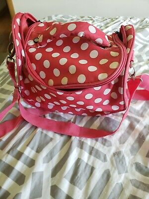 Pink Olympia Travel Bag