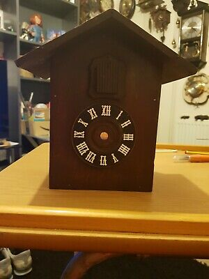 Antique Black Forest Hunter Cuckoo Clock