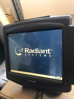 Radiant Systems POS Touchscreen Terminal With Card Reader P1220