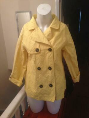 Yellow Ted Baker Jacket For Girls Aged 13 Years